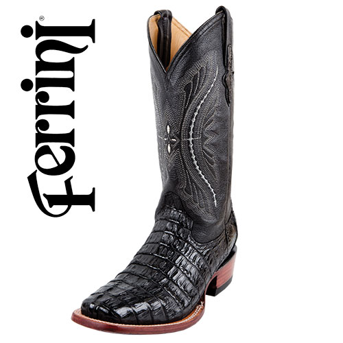 'Ferrini Tail-Cut Caiman Boots'