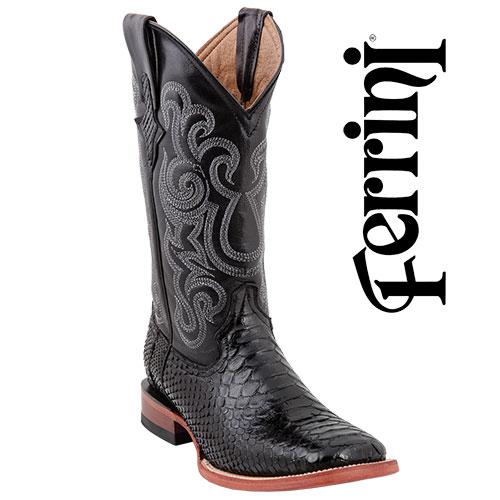 'Ferrini Python Boots'
