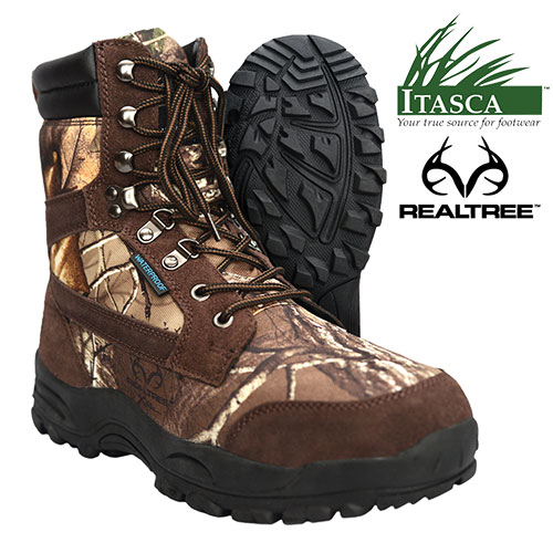 'Itasca Insulated Camo Boots'