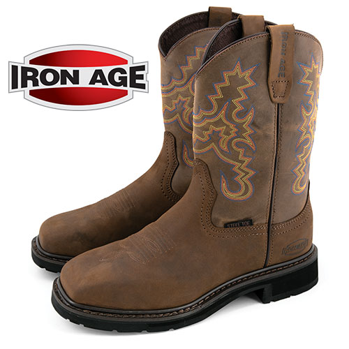 'Iron Age Wellington Boots'