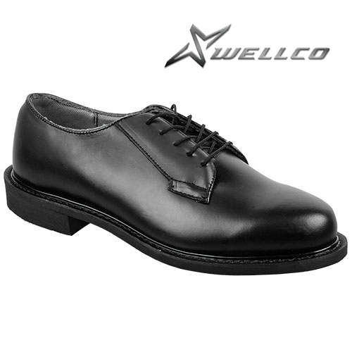 Lace-up Leather Oxfords