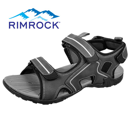 Men's Rimrock Grey Sport Sandals
