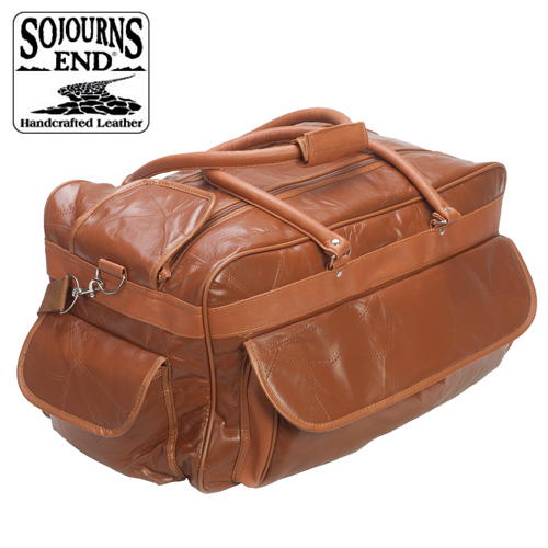 'Lambskin Duffle - Brown'