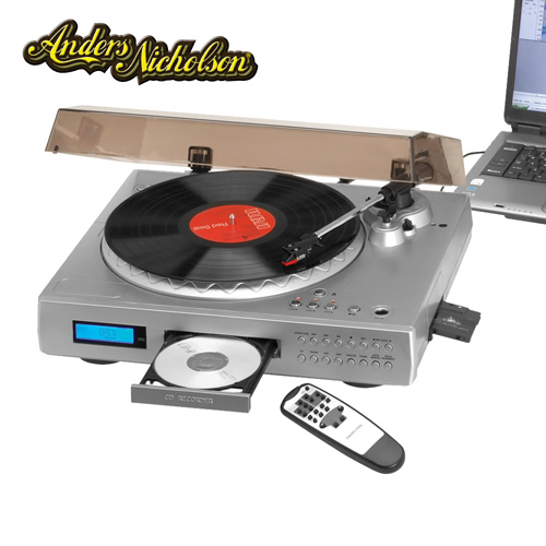 USB Turntable With CD Burner