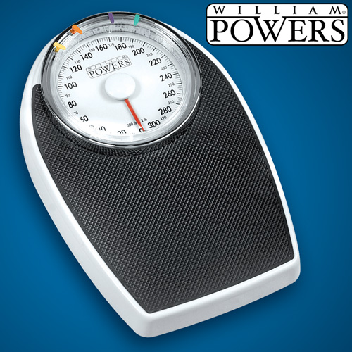 William Powers® Big Dial Bath Scale
