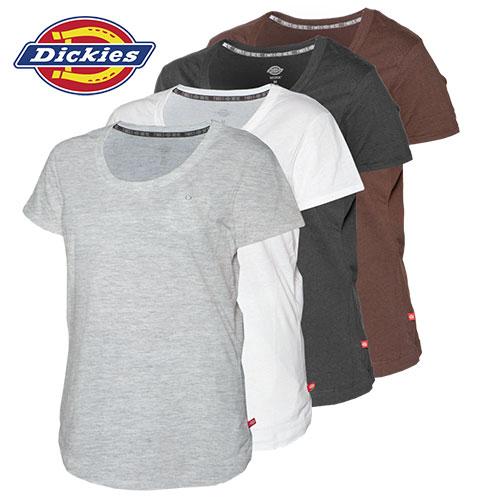 Dickies Womens Shortsleeve Shirts - 4 Pack