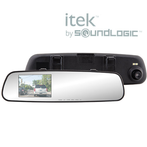 720P Rearview Mirror HD Dash Camera