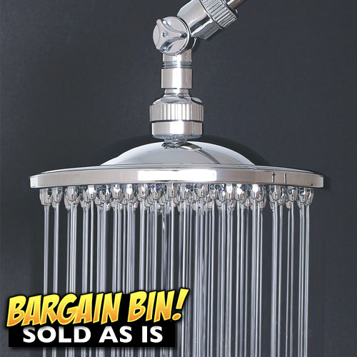 Open Box Hotel Spa Rainfall Shower Head