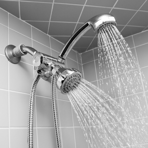 'Open Box Dual Shower Head Kit'