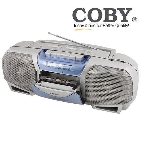 'Open Box Coby Portable Cassette Player'