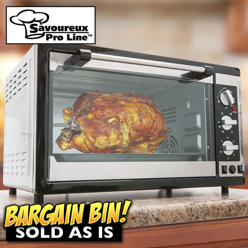 'Open Box Convection Toaster Oven'