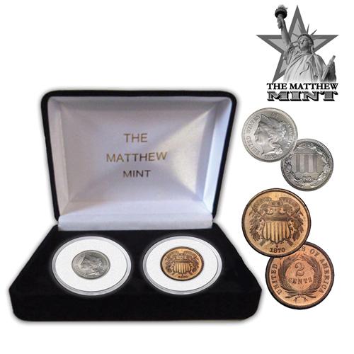 2-Cent/3-Cent Coin Set