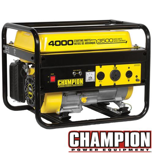 '3500/4000W Champion Generator'