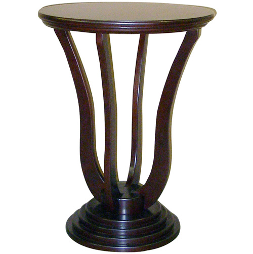 '26.5 Inch Cherry Accent Table'