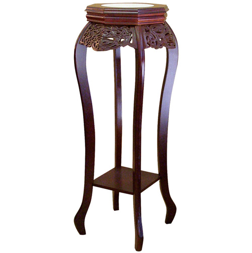 'Cherry Flower Stand with Ceramic Top'