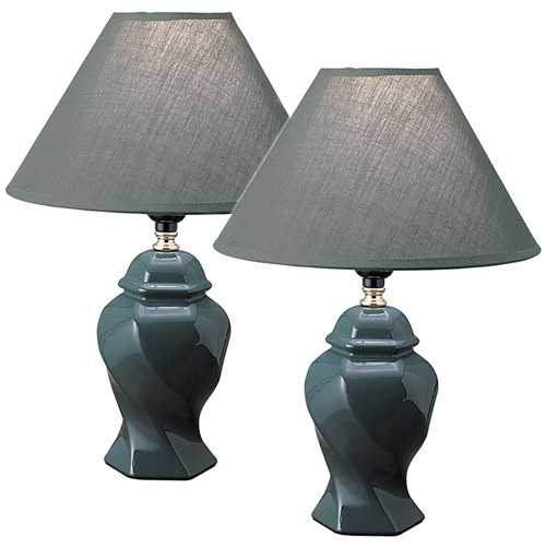 'Pair of Ceramic Table Lamps'