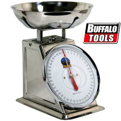 '44 Pound Stainless Dial Scale'