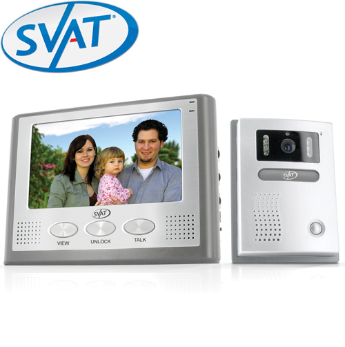 '7 Inch LCD Video Intercom System'
