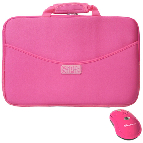 'SlipIt 17 Inch Case with Mighty Mini Wireless Mouse'