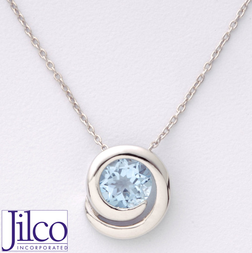 'Blue Topaz Necklace'