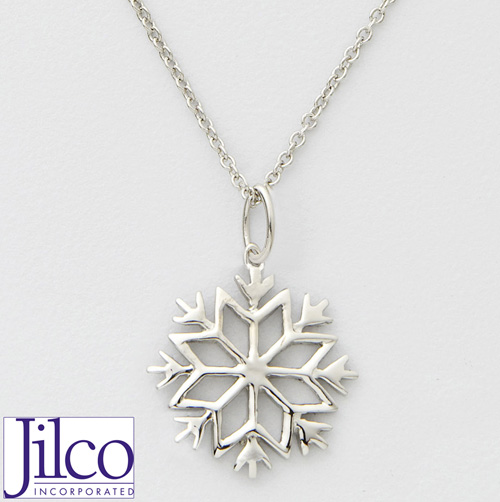'Snowflake Necklace'
