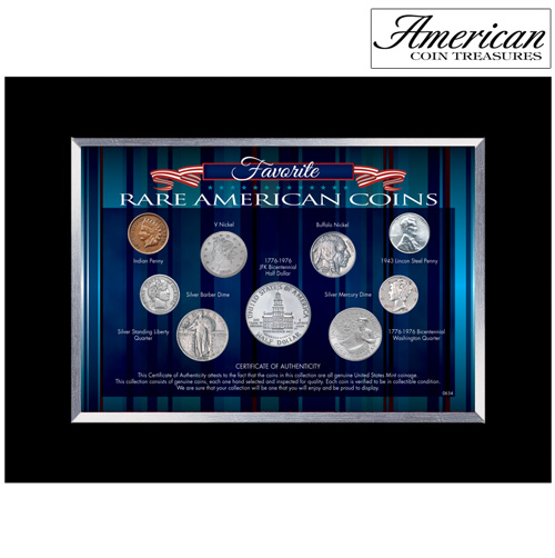 'Favorite Rare American Coins'