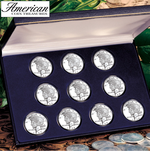 Peace Silver Dollar Collection