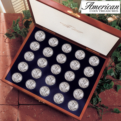 'Complete Walking Liberty Half Dollar Collection'