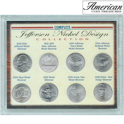 'Complete Jefferson Nickel Design Collection'