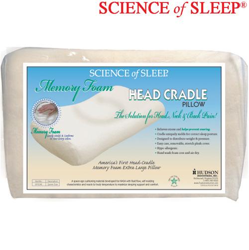 'Head Cradle Memory Foam Pillow'