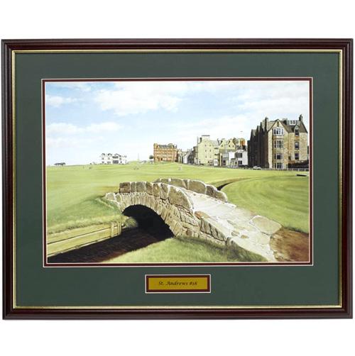 'St. Andrews Framed Art'