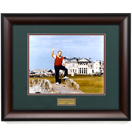 Jack Nicklaus Farewell Framed Art
