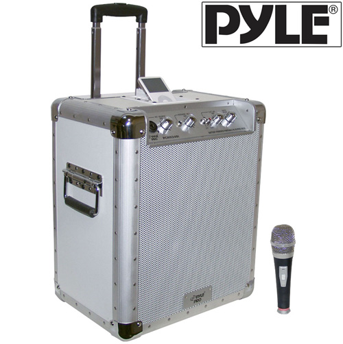 'Portable PA System with iPod® Dock'