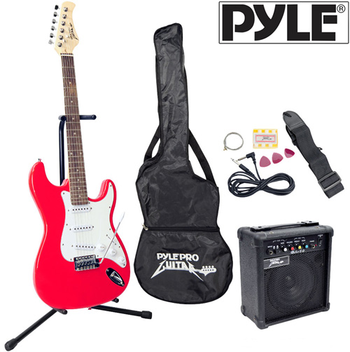'Electric Guitar Set-Red'