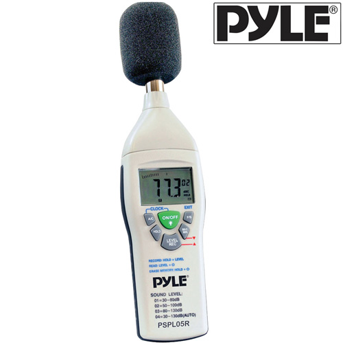 'Digital Sound Level Meter'