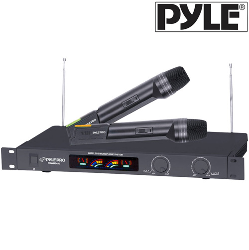 'VHF System with Two Wireless Mics'