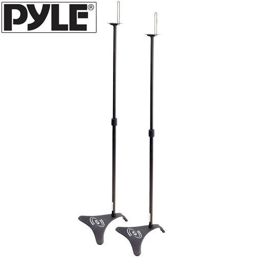 'Adjustable Height Speaker Stands'