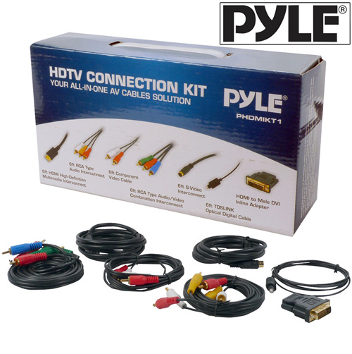 HDTV Cable Connection Kit
