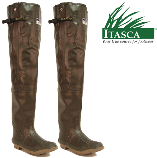 'Itasca Rubber Hip Waders'