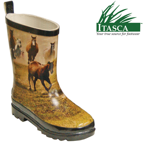 Kid's Misty Pony Rubber Boots
