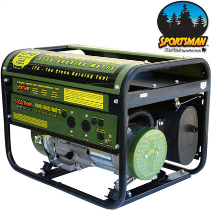 'Buffalo Tools 4000 Watt LP Generator'