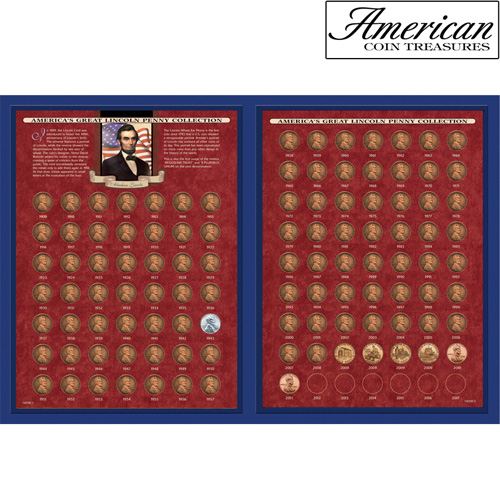 America's Great Lincoln Penny Collection 1909-2011 (including the 1922 Lincoln Penny)