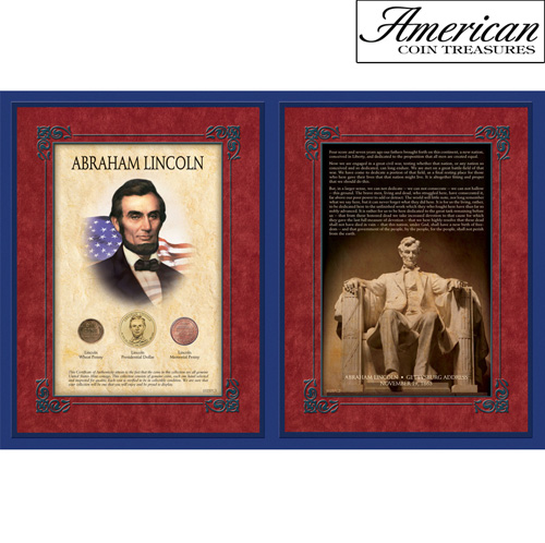 'Famous Speech Series - Abraham Lincoln - Gettysburg Address'