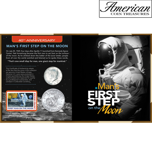 '40th Anniversary Man's First Step on the Moon'