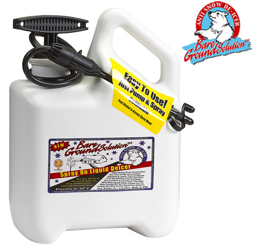 'Deluxe System Pump Sprayer & 1 Gallon Liquid Deicer'