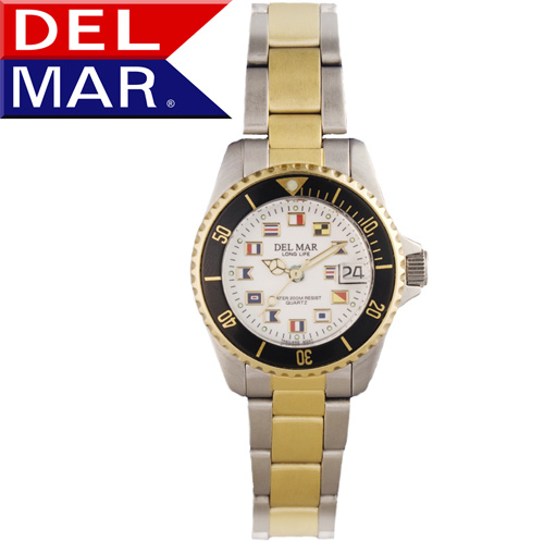 'Del Mar® Ladies Nautical Dial Watch'
