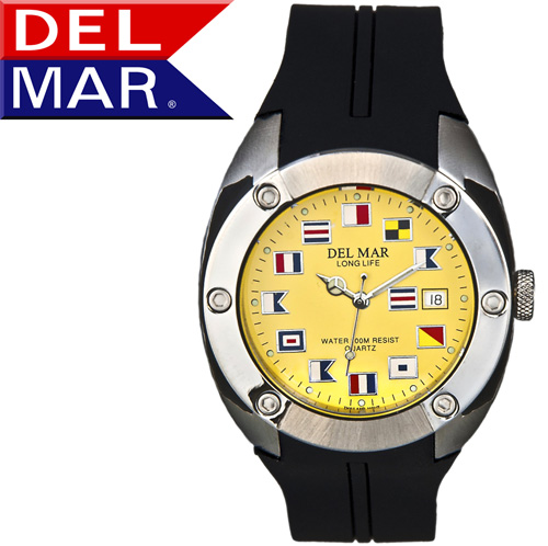 'Del Mar® Nautical Dive Watch'
