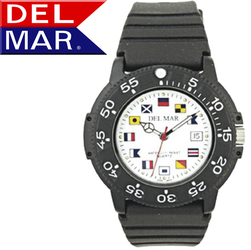 Del Mar® Nautical Dial Watch