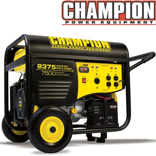 'Champion® 7500/9375 Watt Generator'
