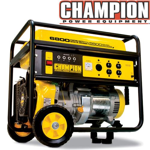 'Champion® 5000/6000 Watt Generator'